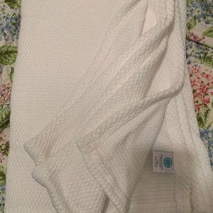 Martha Stewart Collection Twin Cotton Blanket